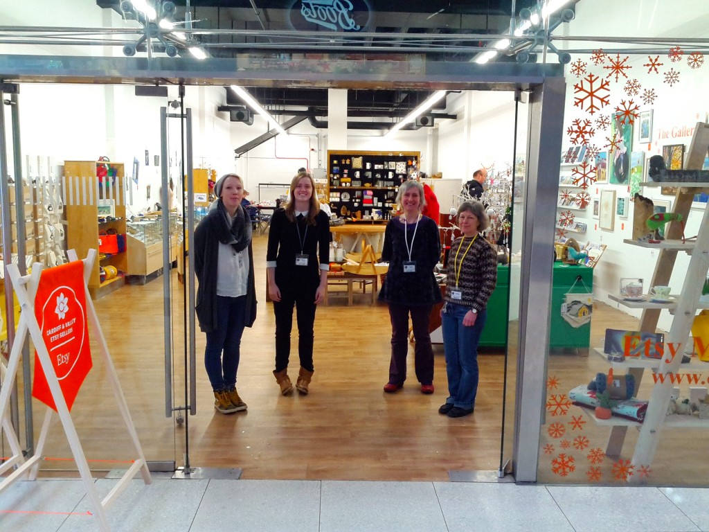 Etsy Cardiff Pop Up Shop