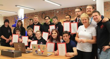 Partnership Helps Young People Get Up To Speed In Digital Industries