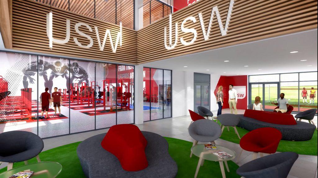 CGI Lobby of USW