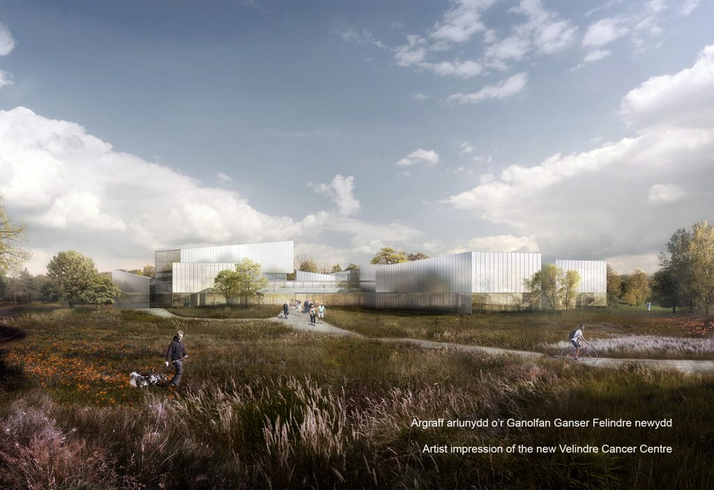Artist impression_new Velindre Cancer Centre_Web3