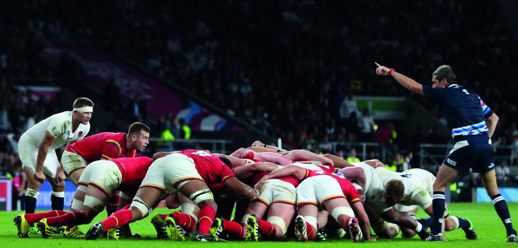 TWICKENHAM, ENGLAND - SEPTEMBER 26 2015: The 2015 Rugby World C
