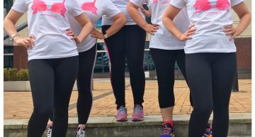 Cardiff Law Team Walks The Walk For Breast Cancer Research