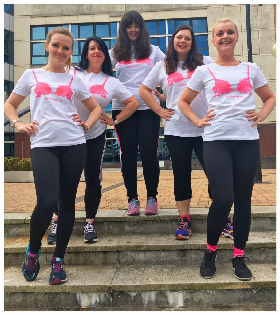 Clarke Willmott LLP, Cardiff MoonWalk team