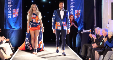 RNLI Are The Stars Of Penarth Fashion Week Video