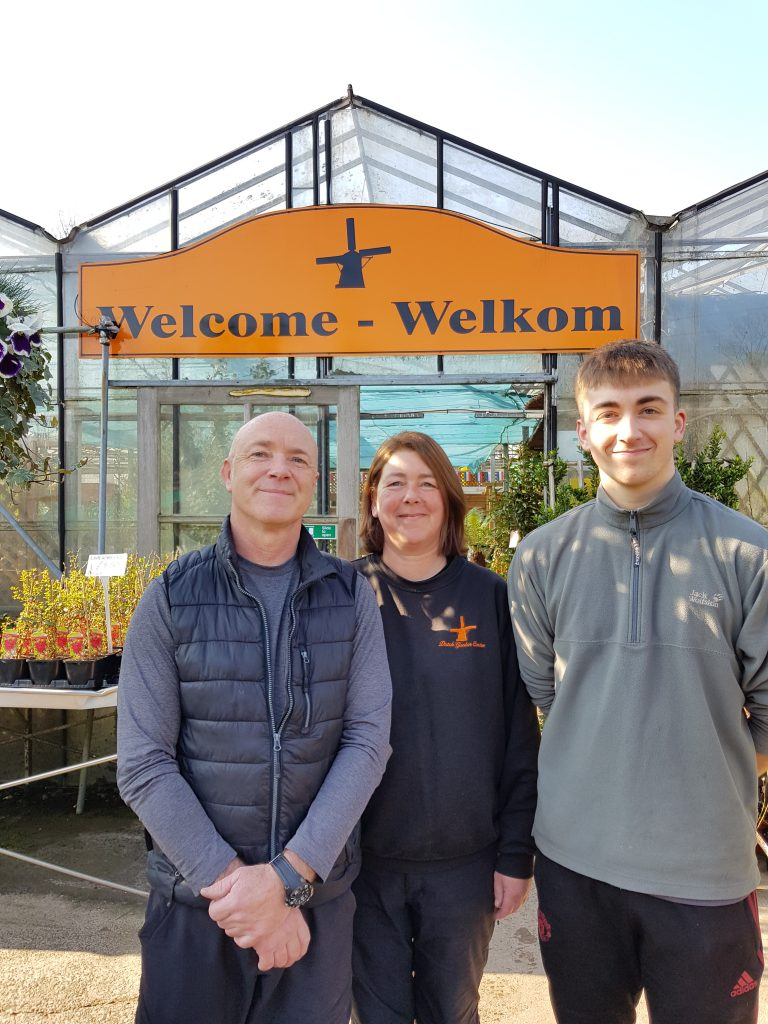 Dutch Garden Centre Family