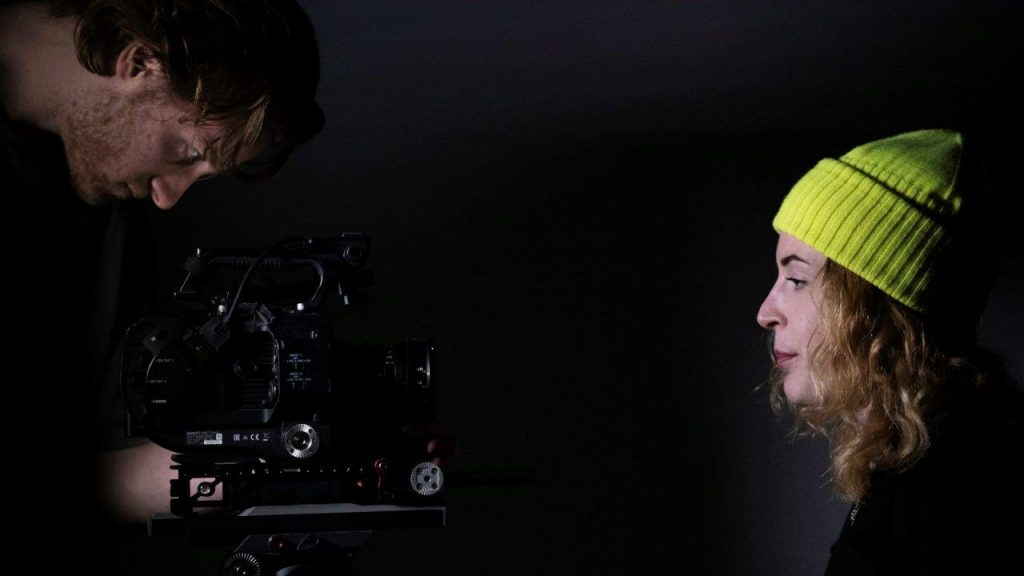 Behind the scenes Music video (1 of 22)