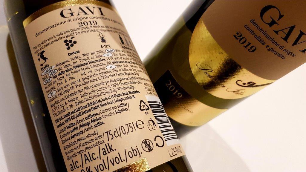 Vale Life Wednesday Wine Gavi 2