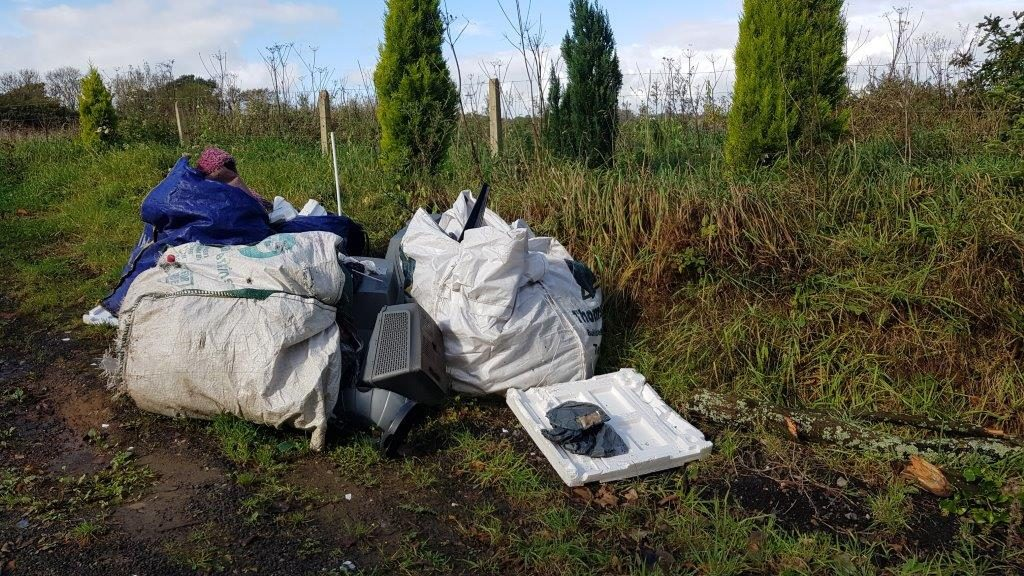 Fly Tippers are scumbags