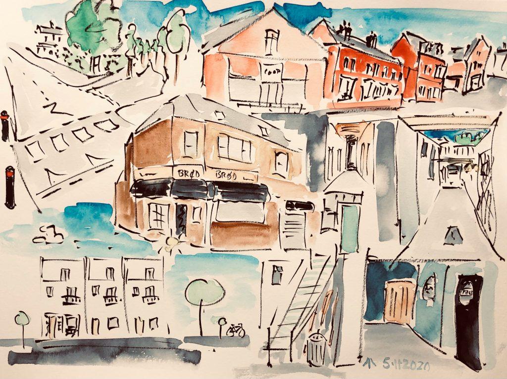 The Walk To The Studio, Martin Briggs, City Life Cardiff 2