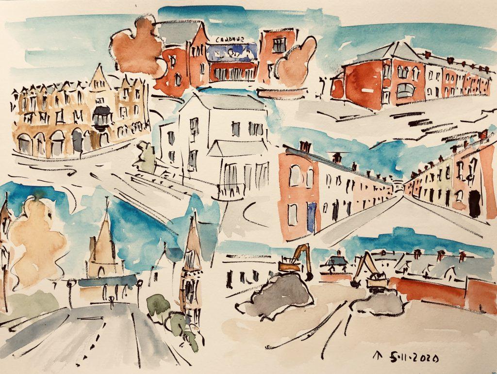 The Walk To The Studio, Martin Briggs, City Life Cardiff 3