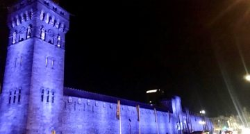 Cardiff Castle Gets Colourfully Kinetic