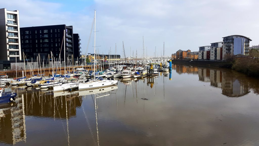 City Life Cardiff Walking 2
