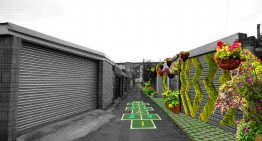 Cardiff Lanes Transformed Into Safe, Green Child Friendly Spaces